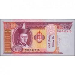 Mongolie - Pick 63c - 20 tugrik - Série AD - 2005 - Etat : NEUF