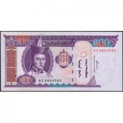 Mongolie - Pick 65a - 100 tugrik - Série AE - 2000 - Etat : NEUF