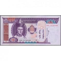Mongolie - Pick 65a - 100 tugrik - Série AG - 2000 - Etat : NEUF