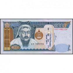Mongolie - Pick 67a - 1'000 tugrik - Série AH - 2003 - Etat : NEUF
