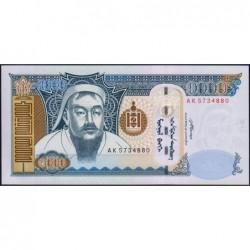 Mongolie - Pick 67b - 1'000 tugrik - Série AK - 2007 - Etat : NEUF