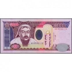 Mongolie - Pick 68b - 5'000 tugrik - Série AH - 2003 - Etat : pr.NEUF