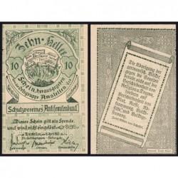 Autriche - Notgeld - Amstetten - 10 heller - 16/04/1920 - Etat : SUP+