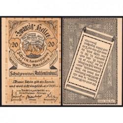 Autriche - Notgeld - Amstetten - 20 heller - 16/04/1920 - Etat : NEUF