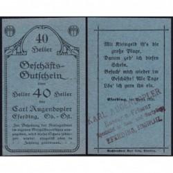 Autriche - Notgeld - Eferding - 40 heller - 1920 - Etat : SPL+