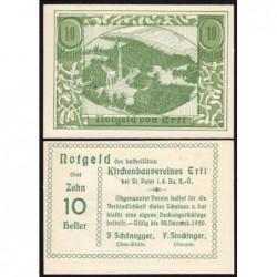 Autriche - Notgeld - Ertl - 10 heller - 1920 - Etat : NEUF