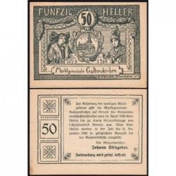 Autriche - Notgeld - Gallneukirchen - 50 heller - 24/04/1920 - Etat : SPL