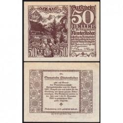Autriche - Notgeld - Hinterstoder - 50 heller - Type d - 14/04/1920 - Etat : SPL