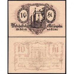Autriche - Notgeld - Linz - 10 heller - Type b - 07/05/1920 - Etat : pr.NEUF