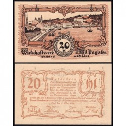 Autriche - Notgeld - Linz - 20 heller - Type b - 07/05/1920 - Etat : NEUF
