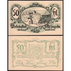 Autriche - Notgeld - Linz - 50 heller - Type b - 07/05/1920 - Etat : NEUF
