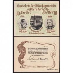 Autriche - Notgeld - Oberndorf - 10 heller - 1920 - Etat : SPL