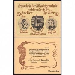 Autriche - Notgeld - Oberndorf - 50 heller - 1920 - Etat : pr.NEUF