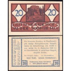 Autriche - Notgeld - Sonnberg - 20 heller - Type a - 1920 - Etat : NEUF
