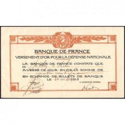 40 - Peyrehorade - Versement d'or pour la Défense Nationale - 1916