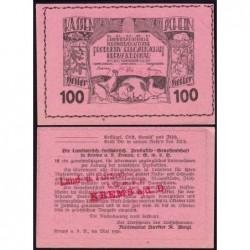 Autriche - Notgeld - Krems - 100 heller - Type b - 05/1920 - Etat : SPL