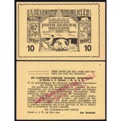 Autriche - Notgeld - Krems - 10 heller - Type f - 05/1920 - Etat : SPL