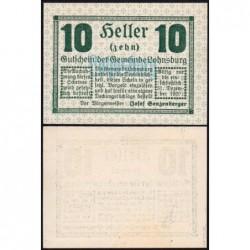 Autriche - Notgeld - Lohnsburg - 10 heller - Type c - 1920 - Etat : NEUF