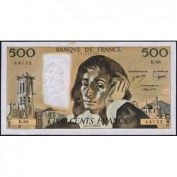 F 71-15 - 04/11/1976 - 500 francs - Pascal - Série B.66 - Etat : TTB+