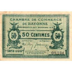 Bayonne - Pirot 21-61 - 50 centimes - 1919 - Etat : TTB-