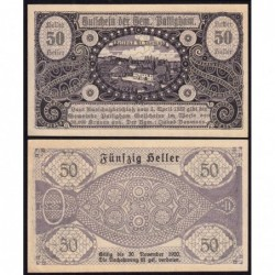 Autriche - Notgeld - Pattigham - 50 heller - 03/04/1920 - Etat : SPL
