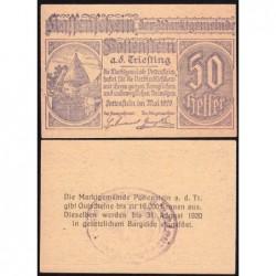 Autriche - Notgeld - Pottenstein - 50 heller - Type 2 - 05/1920 - Etat : NEUF