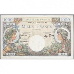 F 39-11 - 13/06/1944 - 1000 francs - Commerce - Série T.3915 - Etat : SUP+