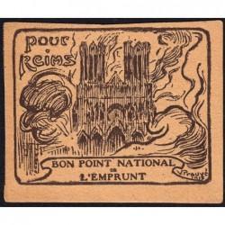 Bon Point National de l'Emprunt - 1917 - Pour Reims