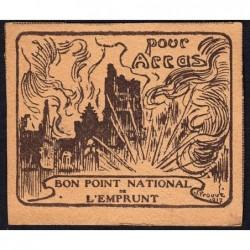 Bon Point National de l'Emprunt - 1917 - Pour Arras