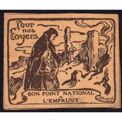 Bon Point National de l'Emprunt - 1917 - Pour nos foyers