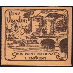 Bon Point National de l'Emprunt - 1917 - Pour Verdun