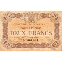 Bar-le-Duc - Pirot 19-17 - 2 francs - Etat : TB+
