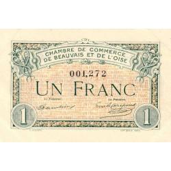 Beauvais - Pirot 22-02 - 1 franc - 1920 - Etat : SUP