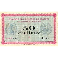 Belfort - Pirot 023-01 - 50 centimes