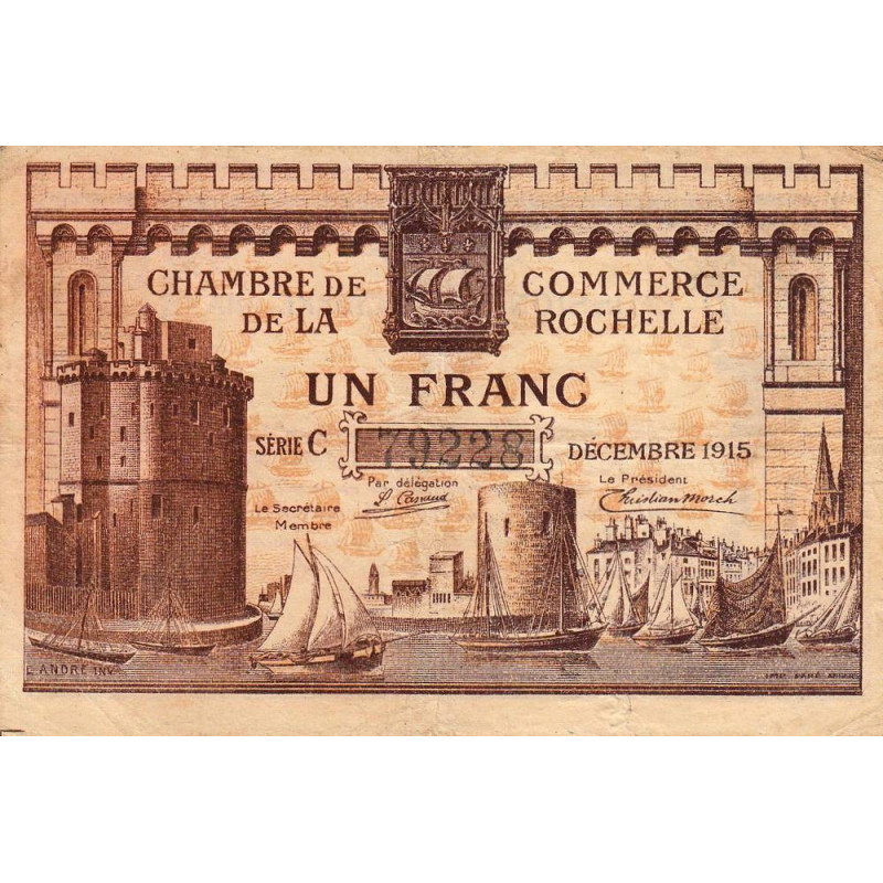 La Rochelle - Pirot 66-03-C - 1 franc