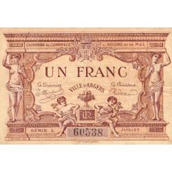 Angers (Maine-et-Loire) - Pirot 8-6b - 1 franc - Etat : TB