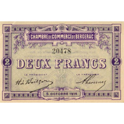 Bergerac - Pirot 24-6 - 2 francs