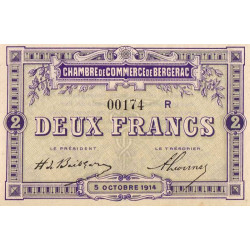 Bergerac - Pirot 24-22 - 2 francs