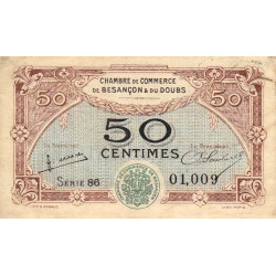 Besançon (Doubs) - Pirot 025-25 - 50 centimes