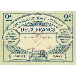 Béthune - Pirot 026-10 - 2 francs