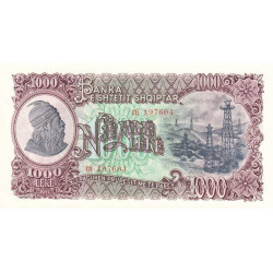 Albanie - Pick 032a - 1'000 lekë