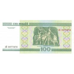 Bielorussie - Pick 26a - 100 rublei - 2000 - Etat : NEUF