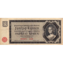 Bohême-Moravie - Pick 5a - 50 korun