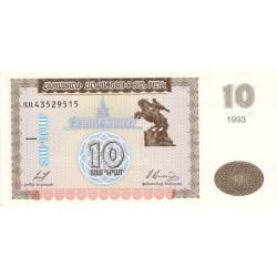 Arménie - Pick 33 - 10 dram - 1993 - Etat : NEUF