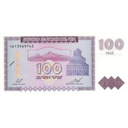 Arménie - Pick 36a - 100 dram - 1993 - Etat : NEUF