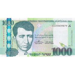 Arménie - Pick 55 - 1'000 dram - 2011 - Etat : NEUF