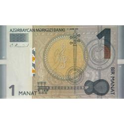Azerbaïdjan - Pick 031 - 1 manat