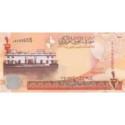 Bahrain - Pick 25 - 1/2 dinar - 2008 - Etat : NEUF