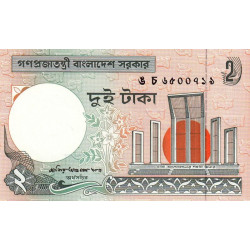 Bangladesh - Pick 6Ce - 2 taka - 2002 - Etat : NEUF