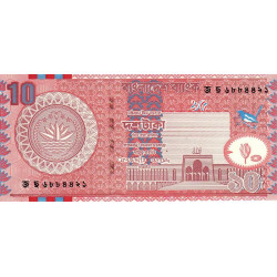 Bangladesh - Pick 39d - 10 taka